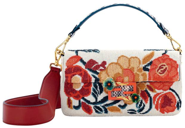 Embroidered jacquard Baguette, £4,590