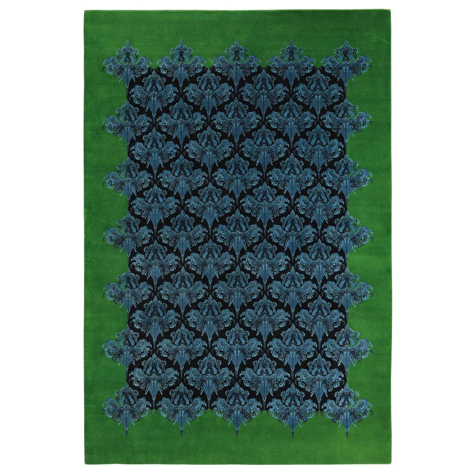 The Rug Company (2.33m x 1.54m) by Jonathan Saunders, in hand-knotted Tibetan wool, £3,355