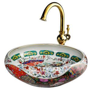 London Basin Company porcelain Yasmin basin, £700