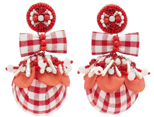 Ranjana KhanAlba earrings, £270, modaoperandi.com