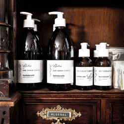 Saint Charles' range of beauty products