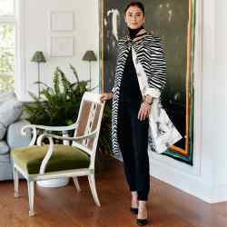 Francesca Amfitheatrof, Louis Vuitton's artistic directorof watches and jewellery, at home in Connecticut