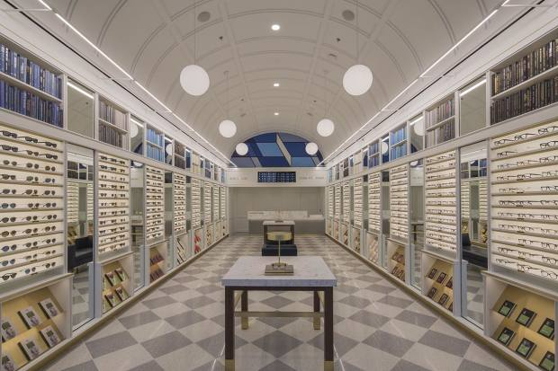 Warby Parker's old-school SoHo shop
