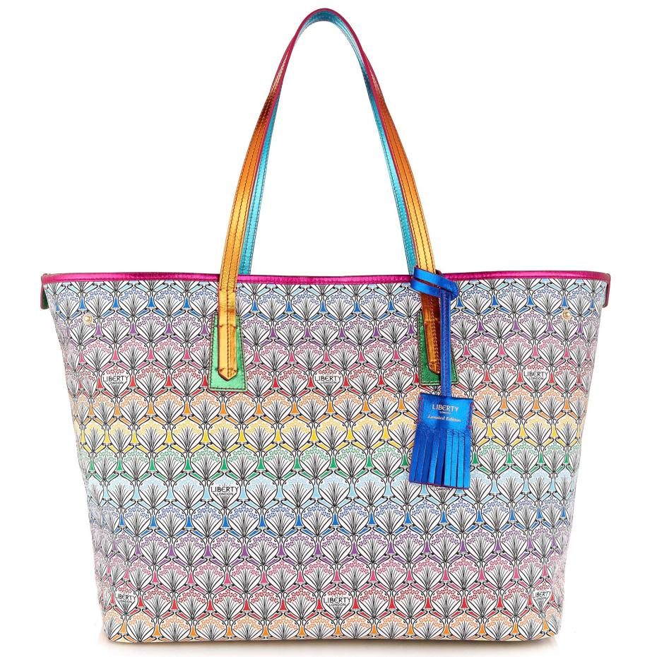 Liberty London Rainbow Marlborough tote, £495
