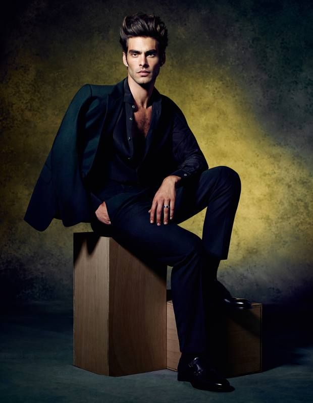 Ermenegildo Zegna Couture made-to-measure wool tuxedo, £2,790, silk shirt, £540, and leather monk-strap shoes, £905** To bid for this suit in aid of Save the Children, visit Christies.com/HTSI. Online auction ends December 11. **