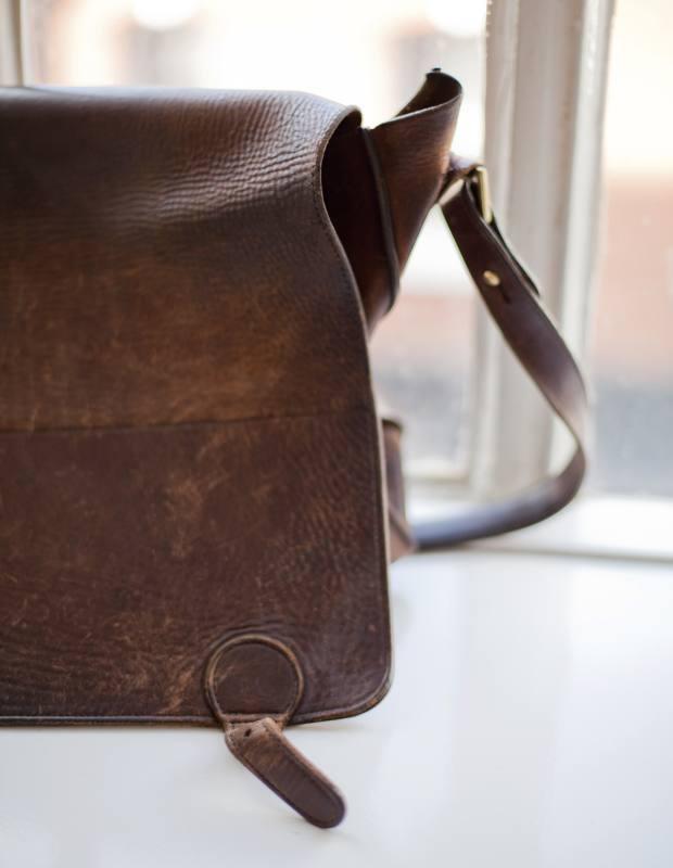 Sanderson's Matt Fothergill courier bag