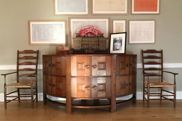 Ernest Gimson – designer of this sideboard – is the focus of the first event
