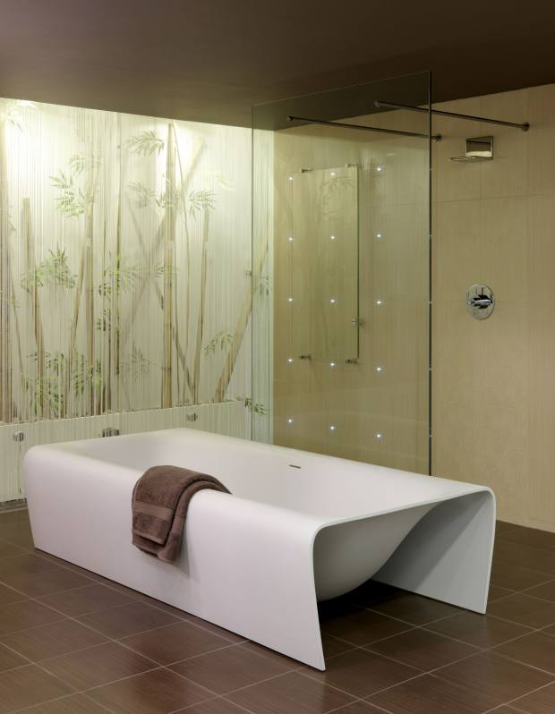 Michael Bouquillon's Strip bath for Aquamass, £5,585, exclusively from CP Hart.