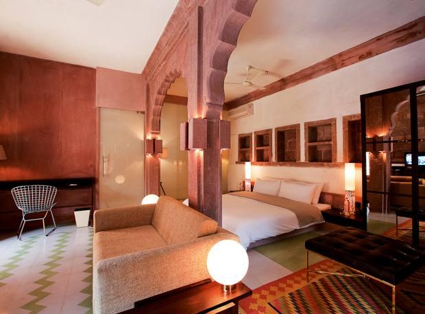 A Heritage Suite at Raas Jodhpur hotel
