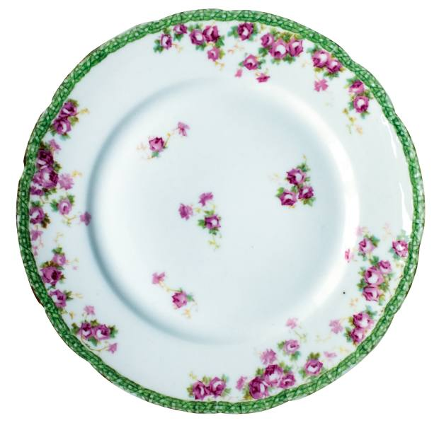 One of Thorisson's Richard Ginori dinner plates