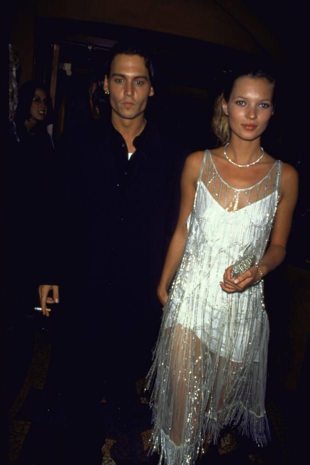 1994: Slip dresses slink into style, courtesy of Calvin Klein