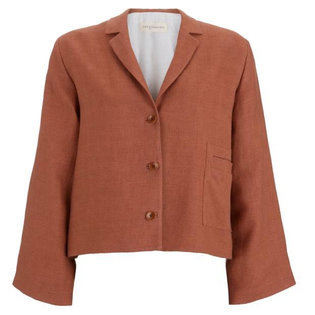 Linen jacket, £279