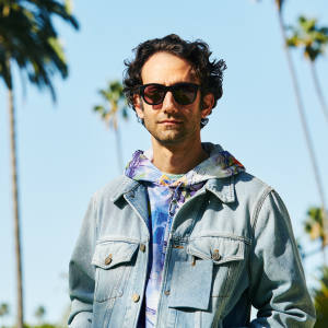 The artist Alex Israel in Los Angeles
