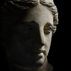 At Masterpiece London, Safani Gallery is offering this Roman marble head of the Venus de Capua, c150 AD, for £550,000