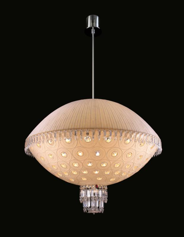 Chandelier by Eriko Horiki, €50,000, from Baccarat.