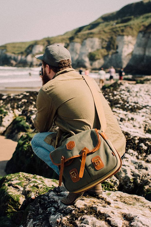 The Adam Marelli x Chapman Camera Bag, £289, designed by the photographer