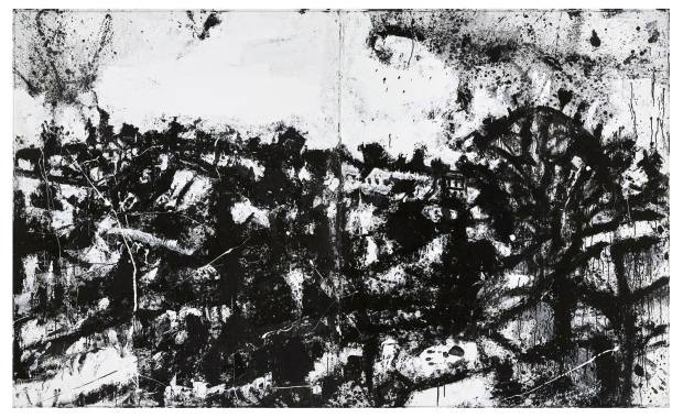 John Virtue's Landscape No 174 (1990-92)