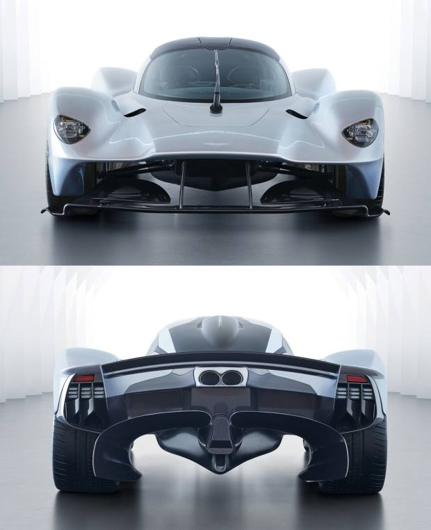 An edition of 150 road versions and 25 for track-use only of the AstonMartin Valkyriehybridhypercar goes into production in 2019,with a guide price of£2.5m–£3m