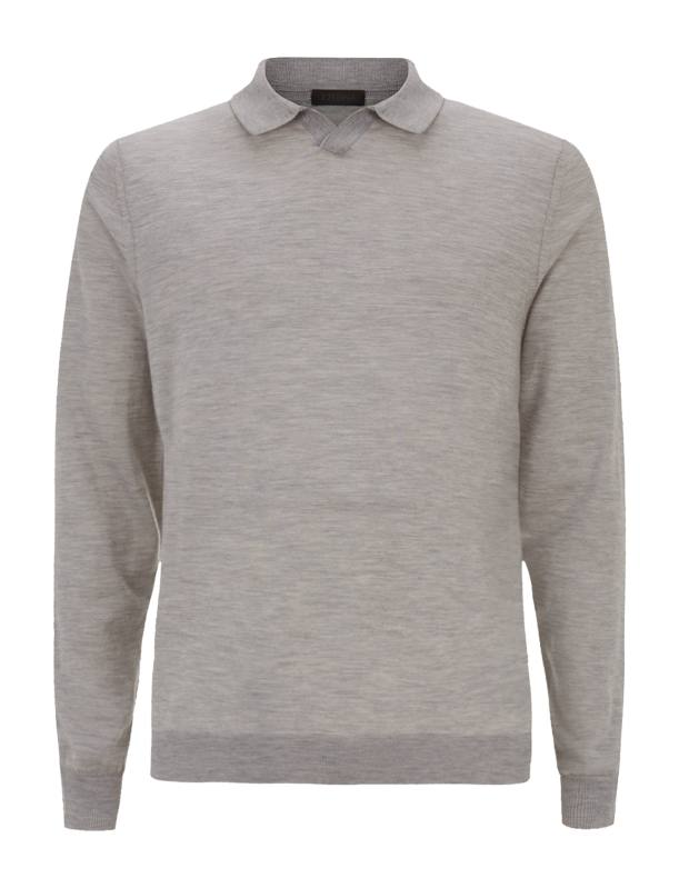 Z Zegna cashmere polo shirt, £410