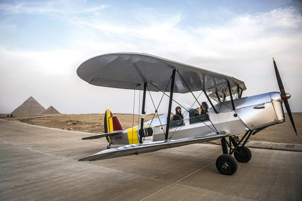 An intrepid biplane rally across Africa | How To Spend It