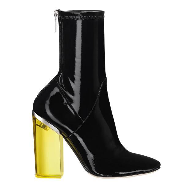 Dior vinyl Crystal boots, £1,100