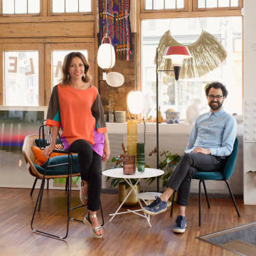 Mad Atelier owners Chantal Martinelli and Julien Desormeaux