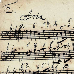 Bach's Cantata 176, sold for £48,000 at Sotheby's in 2005.