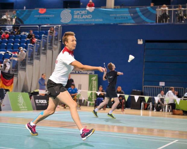 Para-badminton player Mary Margaret Wilson receives funding from Path to Success