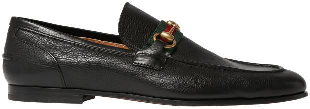 Gucci leather Horsebit loafers, £505