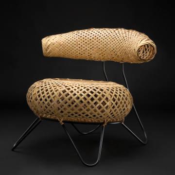 Ubunji Kidokoro's 1930s bamboo chair will be presented by WA Design, €22,000
