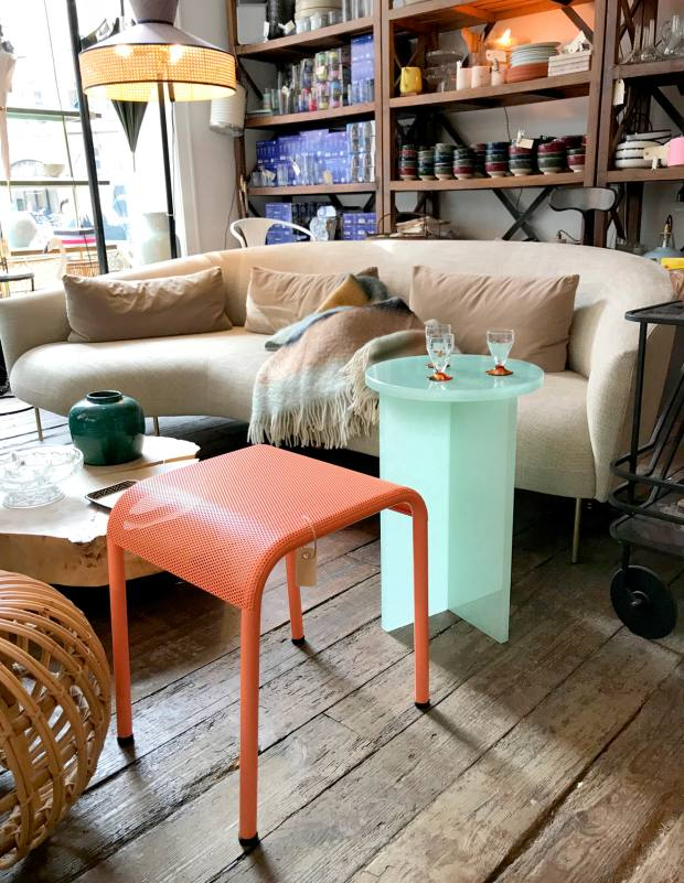 Beau Marché sources much of its stock from French flea markets