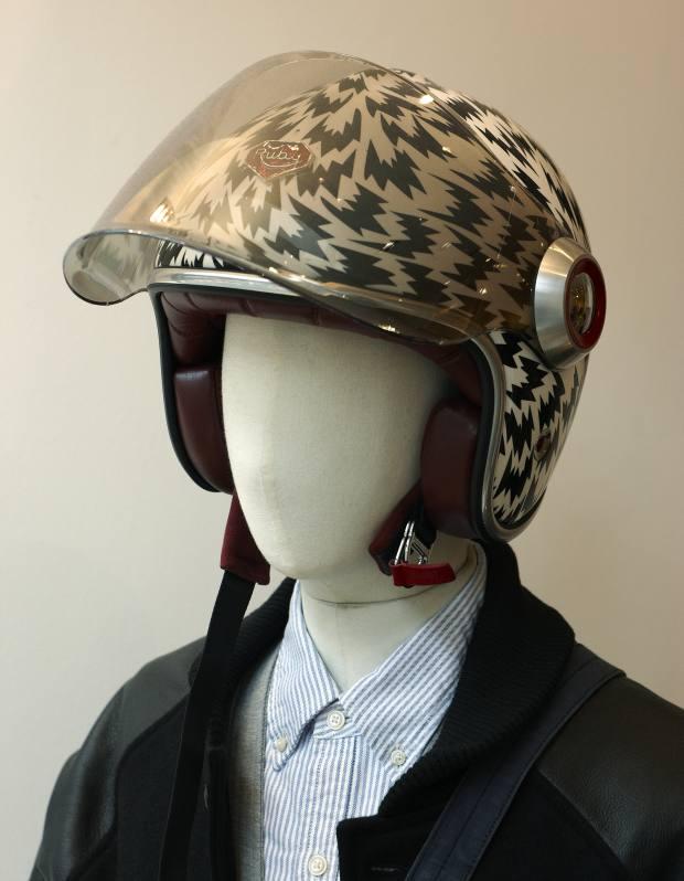 Ruby helmet by Eley Kishimoto, £720.