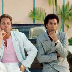 Don Johnson and Philip Michael Thomas in Miami Vice