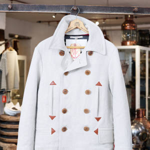 Mister Freedom Waterfront pea coat, about £900