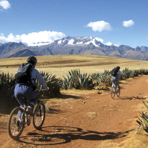 Cazenove + Lloyd offers scenic cycling in the Sacred Valley, Peru.