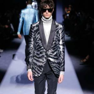 Tom Ford silk/viscose and satin jacket, £3,220