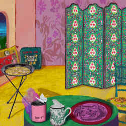 Gucci's Décor collection is kaleidoscopically coloured and irrepressibly eclectic