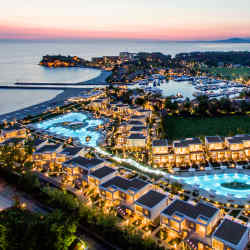 The Sani Resort on the Kassandra peninsula is home to five five-star hotels