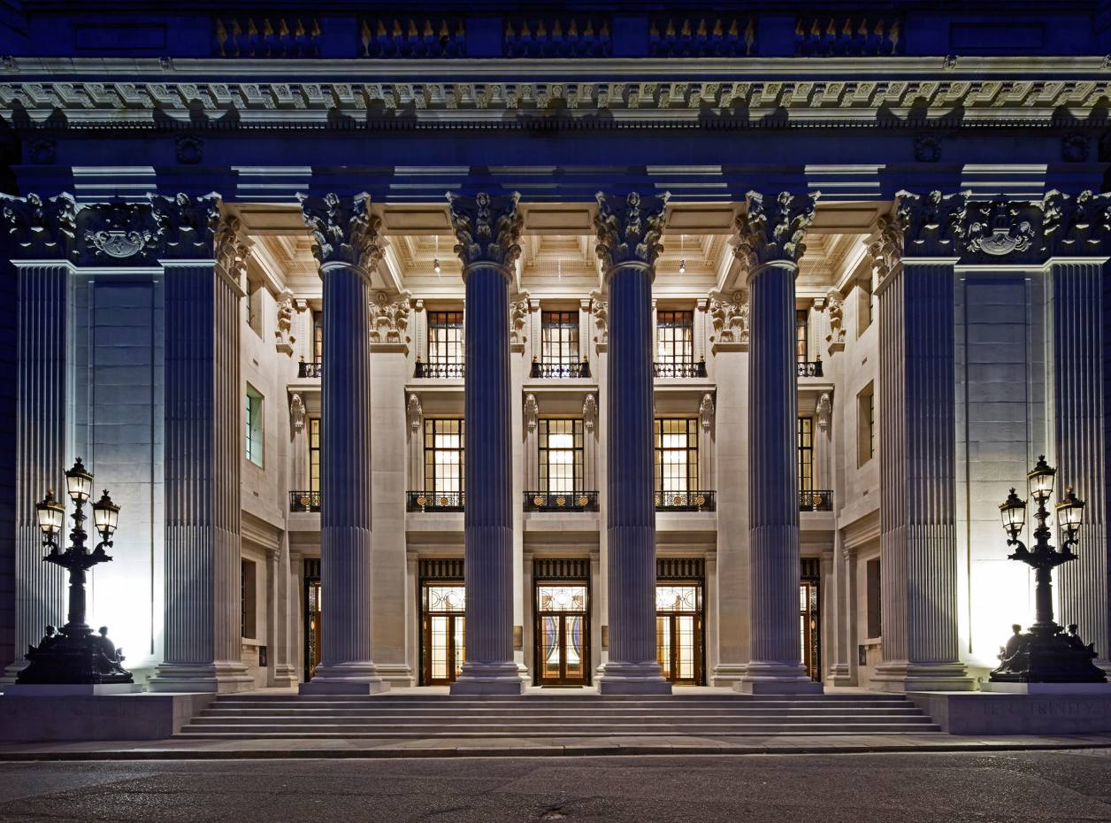 The new Four Seasons Hotel London at Ten Trinity Square