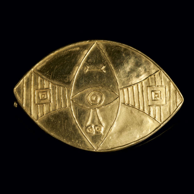 Picasso Ovale brooch made by François Hugo, c1967, £22,500 at Didier