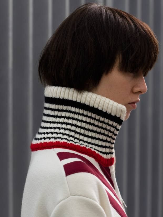 Lacoste knitted patchwork dress, £900