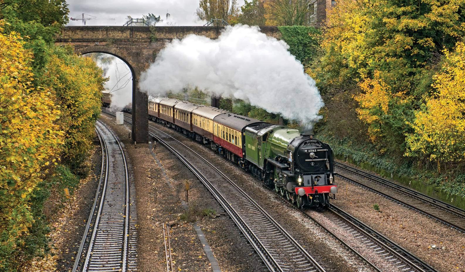 The afternoon tea on board the Belmond British Pullman celebrates Afternoon Tea Week