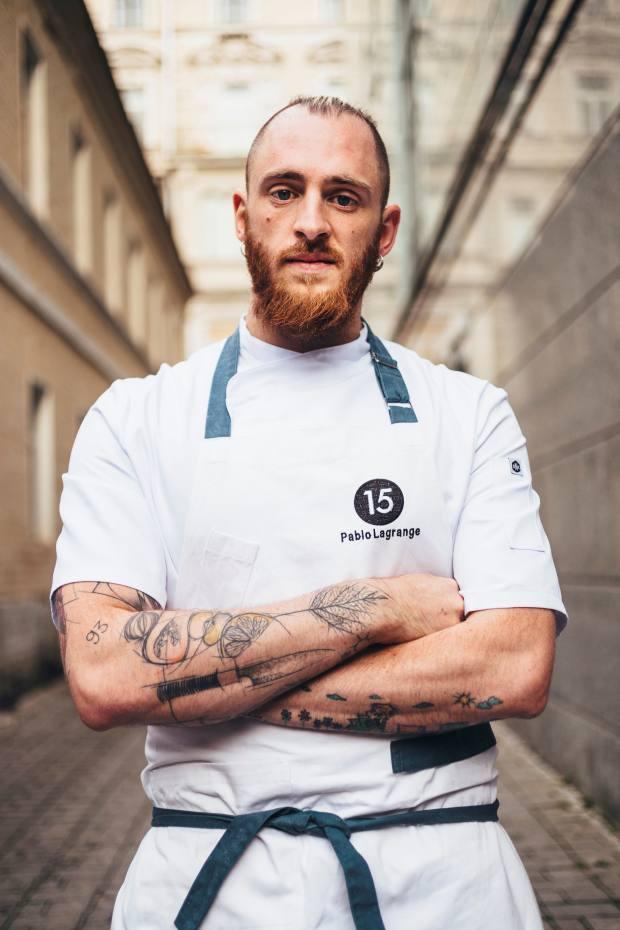 Argentinian chef Pablo Esteban Lagrange
