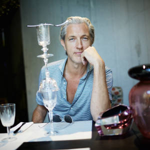 Marcel Wanders at Potafiori in Milan