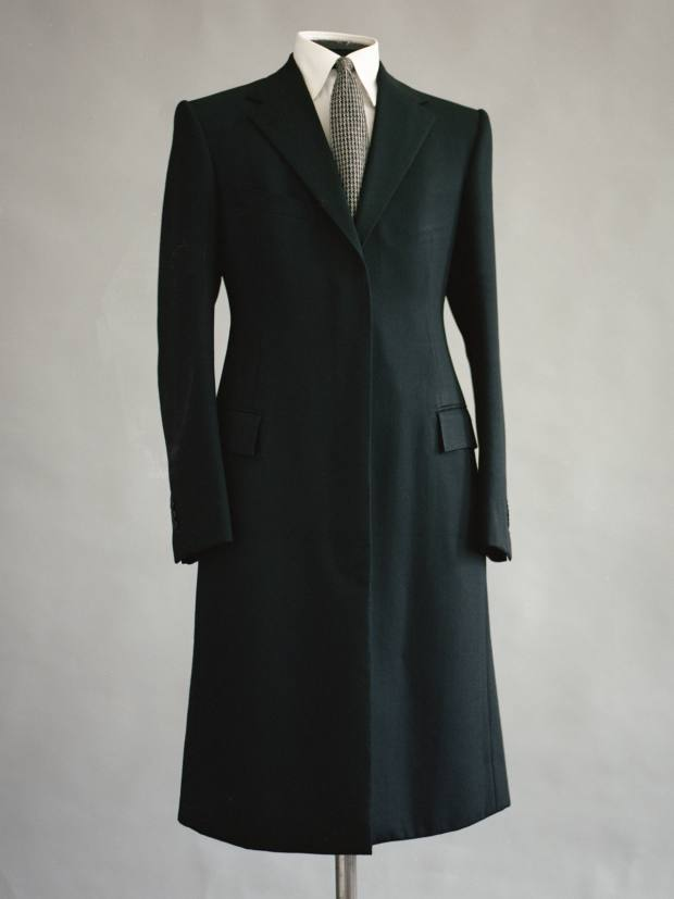 Michael Browne twill coat, from £7,250