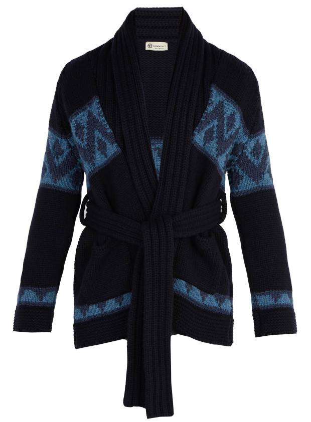 Connolly cashmere Beach cardigan, £1,800