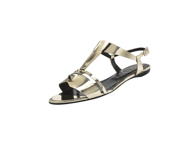 Roger Vivier leather Mask sandals, £485