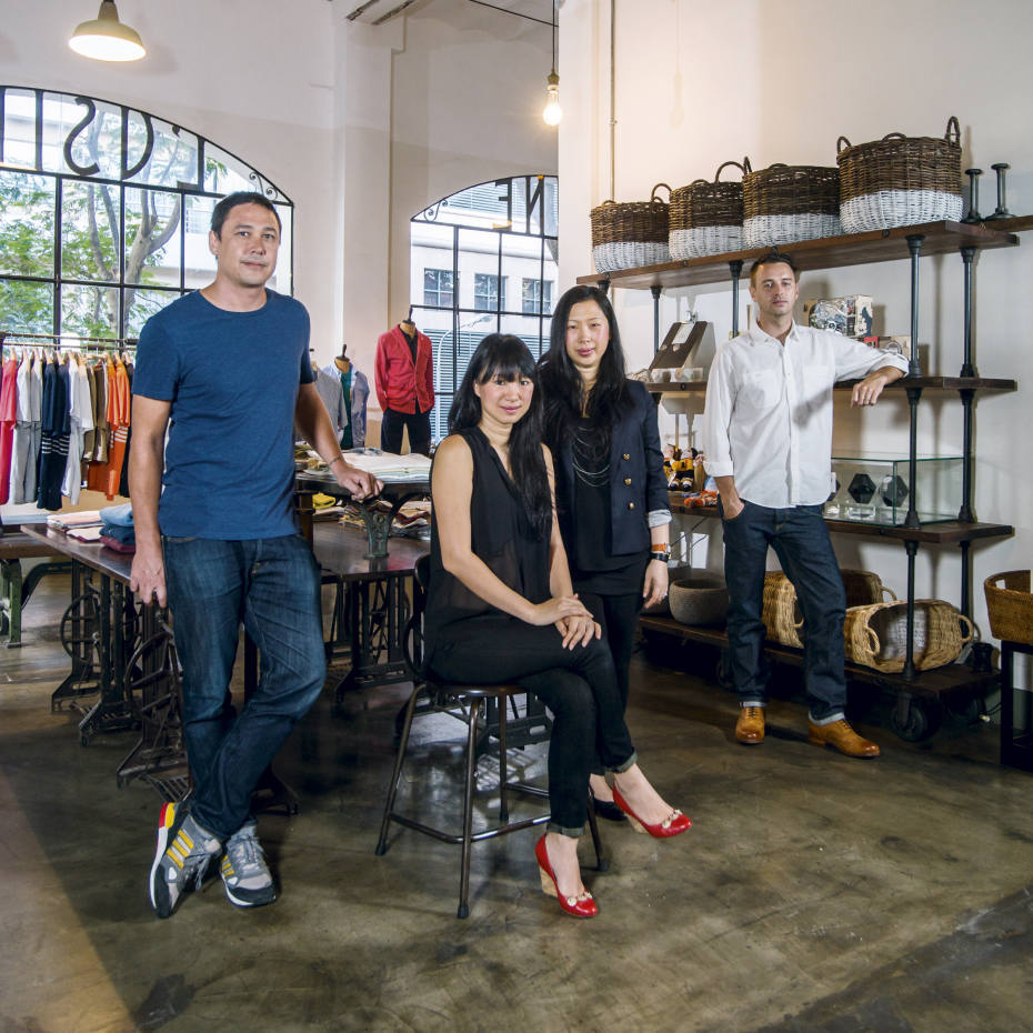 L'Usine, and the venture's four founders