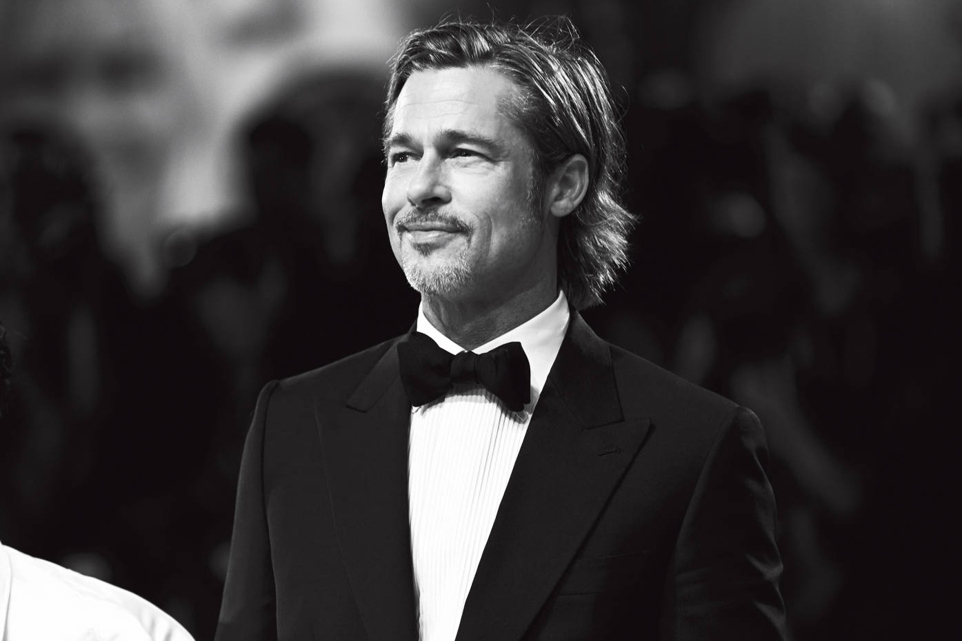 Brad Pitt in Brioni at the premiere of Ad Astra