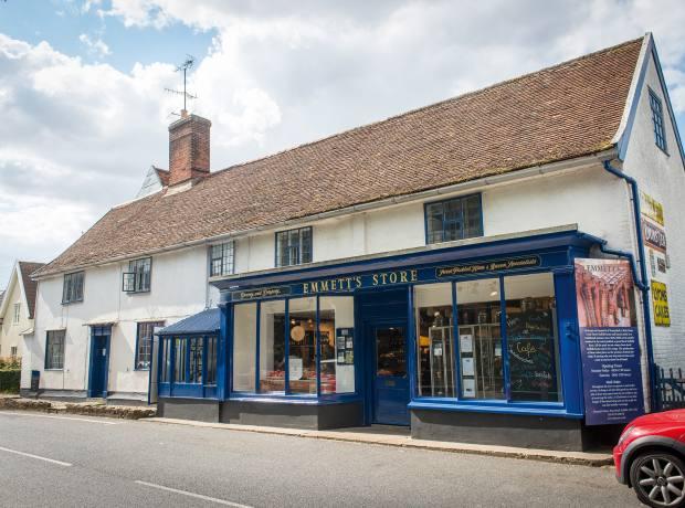 Emmett's Store in Peasenhall, Suffolk